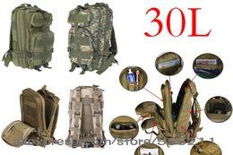 Deportes al aire libre 3P 30L bolsa mochila táctica militar Molle mochilas para acampar senderismo trekking al por mayor desde fabricantes