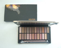 Wholesale Eye Shadow Palette Nude - free shipping DHL! lowest price new hot makeup NUDE #4 24 color eye shadow   eyeshadow palette
