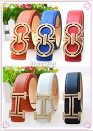 Wholesale Boys Belt Sizes - Wholesale-2015 New brand hot selling fashion boys PU leather belts children letters buckle kids buckle Leisure waist strap waistband