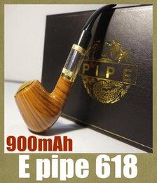 E pipes à cigarettes 618 en Ligne-E-pipe Pipe 618 e cigarette cigarette fumer pipe style électronique epipe Clearomizer ego kit de démarrage mécanique mod kit mod avec atomiseur TZ304