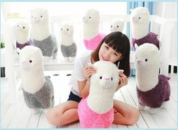Wholesale Cutest Plush Animals - new 35cm Alpaca Plush Toy Cutest Small Soft Toys Birthday Gifts Home Decoration For Small Stuffed Animal