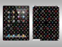 Wholesale Apple Ipad Decal - Wholesale-Film Decal Vinyl Sticker Skin Customization for Apple iPad 2 3 Retina  185 Mode Fashion