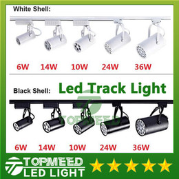 Wholesale DHL CE ROHS UL Led Track Light W W W W W Beam angle Led Ceiling Spotlight AC V led spot lighting