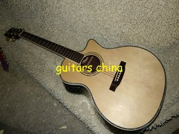 Wholesale Oem Acoustic Guitars - 2015 NEW Natural 916CE Acoustic Electric Guitar abalone inlaid from china OEM guitar free shipping