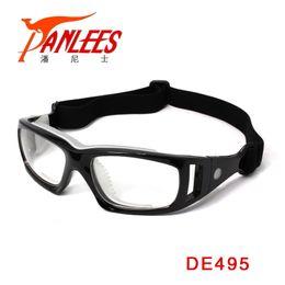 2019 gafas de fútbol al por mayor Al por mayor-Panlees Prescripción Gafas Deportivas Prescripción Gafas de Fútbol Balonmano Deportes Gafas con banda elástica Envío Gratis gafas de fútbol al por mayor baratos