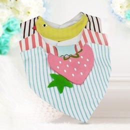 Wholesale Sanitary Napkins Bamboo - Free Shipping 2017 New Arrival Baby Baby Cotton Double Bibs Baby Cartoon Animal Bibs Sanitary napkins