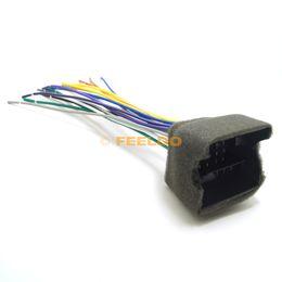 Wholesale Dvd Car Stereo For Dodge - FEELDO Car CD Player Radio Audio Stereo Wiring Harness Adapter Plug for Audi BWM Volkswagen Mini Dodge Aftermarket CD DVD Stereo SKU#:3033