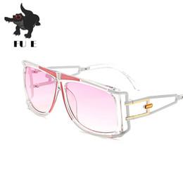FU E Nuevas Señoras de lujo Gafas de Sol Cuadradas Mujeres Diseñador de la Marca  Marco de Metal Gafas de Sol Vintage Hombres Gafas de Sol UV400 97239 24d4e0243b81