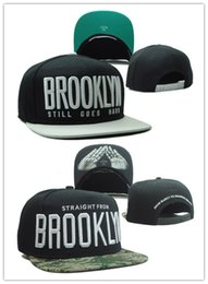 Wholesale Wholesale Strapback Cheap - Wholesale-2pcs BROOKLYN black snapback cap 2015 new cheap sunshade bone strapback new fashion free shipping cayler&sons gorras snapback