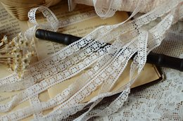 Wholesale Handmade Lace Trim - 2015 New Arrival Garment accessories 1cm Flesh Color Polyester Trims Ornament DIY Handmade Sewing Material Lace Fabrics for Dresses
