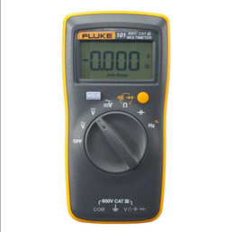 multimetro digitale fluke Sconti All'ingrosso-fluke 101 multimetro digitale di base !!! Nuovo di zecca !!!! Gamma automatica multimetro digitale digitale F101 originale F101 Spedizione gratuita