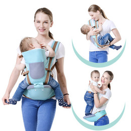 Wholesale Baby Hip Carriers - BABY LAB Breathable Multifunctional Breathable Kangaroos backpack Infant Sling Carrier Hip Seat Baby Carrier for All Seasons