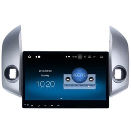 "Toyota rav4 dvd gps android online-10.2 ""Android 7.1 Auto DVD del coche GPS para Toyota RAV4 2007-2011 con 2 + 16G RAM Quad Core HDMI 4K Video WIFI 4G GPS Navi Radio RDS BT 4.0 USB SD"