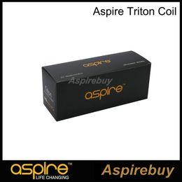 Original aspire triton tanque on-line-100% Original Aspire Triton Tanque Bobina RBA Bobina de Substituição com Algodão Orgânico Japonês 0.3 0.4 1.8 ohm RBA Bobina Sistema