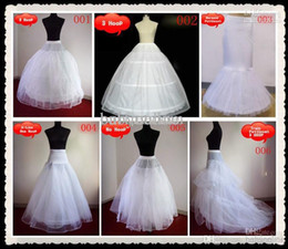 Wholesale Bridal Crinoline Plus Size - Cheap Bridal Gown Petticoat Petticoats Underskirt A Line Ball Gowns Mermaid For Wedding Gown Plus Size Hoop Crinoline Free Shipping