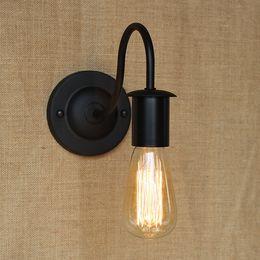 Wholesale Louis Poulsen Lamps - Louis Poulsen scone lights E27 plated Loft american retro vintage iron wall lamp 110V-220V Antique lampe industrial