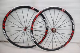 Wholesale Carbon Alloy Road Wheels 38mm - 2015 Light weight carbon wheelset alloy brake with R36 hubs road bike carbon wheelset clincher full carbon 38mm road wheels 700c