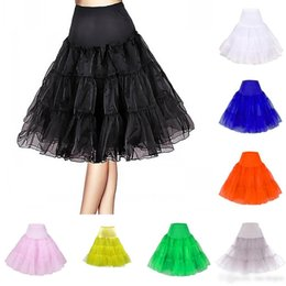 Wholesale Cheap Petticoats For Women - 2015 Cheap In Stock Free Shipping Girls Women A Line Short Petticoat Black Ivory For Short Party Dresses & Wedding Dresses Underwear ZS019