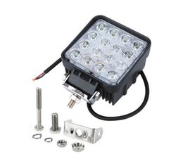Wholesale Universal Spot Light - 40pcs lot 16LED 48W LED Work Light for Jeep SUV ATV Off-road Truck Universal LED working light