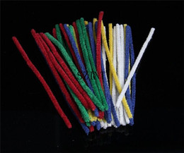 Wholesale Wholesale Tobacco Pipe Cleaners - 500pcs lot Pipe Cleaner Tobacco Smoking Cleaning Tool Pipe Cleaners 420 Tools Smoke Pipe Cleaner Glass Bong Water Pipes Cleaner Tools