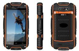 melhor celular mp3 player Desconto Nova descoberta V8 android 4.2.2 telefones de tela capacitiva telefones inteligentes À Prova D 'Água À Prova de Choque À Prova de Choque WIFI Dupla câmera 4 CORES ZKT