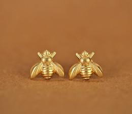 10 paires d'or miel argent abeille boucles d'oreilles minuscules abeille mouche boucles d'oreilles Woodland insecte mouche oiseau miel Bumble Bee boucles d'oreilles ? partir de fabricateur