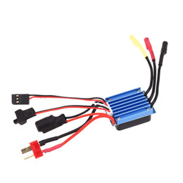 Wholesale Rc Esc Brushless Motor - Brand 18099 Yikong 20A Brushless Motor ESC Electronic Speed Controller for 1 10 1 18 Yikong RC Model Cars order<$18no track
