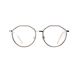 Мода старинные многоугольник ретро плоский свет зеркало металлический каркас очки для женщин мужчины 4 стили выберите модель: 3232 от