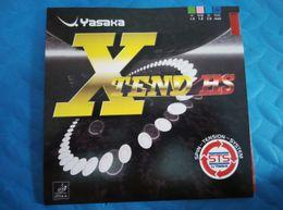 Wholesale Yasaka Rubber - Free Shipping YASAKA XTEND HS Soft Sponge Table Tennis Rubber  Ping Pong Rubber