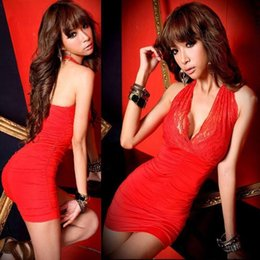 Wholesale Sexy Korean Club Dresses - best selling new Korean Women Clothing Dress Sexy Fashion Dress Wome Clothing Night Out Club Nice Lace Dress