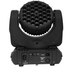 Wholesale Moving Head Light Rgbw Cree - RGBW color mixing Cree led 36*3W led moving head beam stage weeding light LLFA