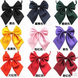 Wholesale Girl Business Suits - free shipping hot sale women bow tie girl bow tie small for dress suit Ties Fashion Accessories
