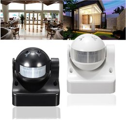 Wholesale Outdoor Light Switch - Durable 12M 180 Degrees Auto PIR Motion Sensor Detector + Switch Home Garden Outdoor Light Lamp High Quality
