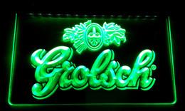 Wholesale Led Sign Lighting Bars - LS011-b Grolsch Beer Bar Pub Club NEW Neon Light Sign