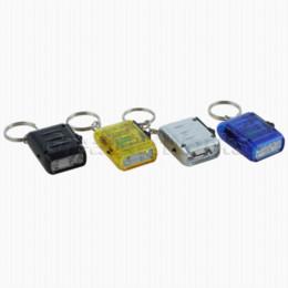 Wholesale Mini Dynamo Flashlight Keychain - High Quality 2-LED Mini Dynamo Wind-up Key Chain Torch Flashlignt NewHot Sale chain hair torch keychain