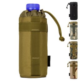 Wholesale Sling Swim Wear - Water Bottle Holder Universal Outdoor Tactical Carrier Pockets Worn As A Sling or Backpack for (Bottle Not Included)