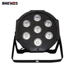 Control remoto inalámbrico American DJ LED SlimPar 7x9W RGB 3IN1 LED DJ Wash Light Envío gratis desde fabricantes