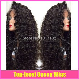 Wholesale Tangle Free Full Lace Wigs - 2015 new hair products Glueless Brazilian Hair Curly Lace Front Wig&Full Lace Wig Human Hair Wigs no shedding and tangle free