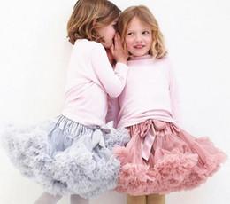 Wholesale Birthday Pettiskirt - Christmas Tutu skirts baby infant tutu skirt kids Butterfly Ruffle Pettiskirt birthday dress princess skirts bowknot Skirt