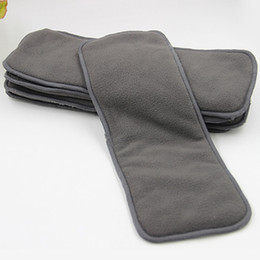 Wholesale Charcoal Inserts Cloth Diapers - 4 layers Bamboo Charcoal Inserts Cloth diaper For Baby Diaper washable reuseable baby diapers 4 layer thickening urinal pad