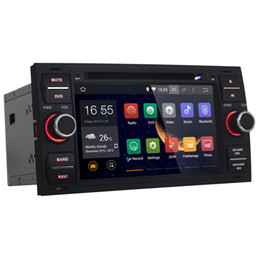 Wholesale Gps Card For Maps - Joyous Android 4.4 Car DVD GPS Navi For Ford Focus 2004 - 2008 Dual Core 1.6GHz Radio Multimedia, Free 4GB Map Card