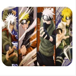 Wholesale Naruto Mouse - Wholesale-Free shipping Naruto Mouse pad Anime computer MousePad mouse Mat