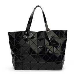 Wholesale Red Folding Tote Bag - 2016 New BAOBAO Women Pearl Designer Bags Diamond Lattice Totes Geometry Quilted Shoulder Bag Sac Folding Handbags Women Famous Brands