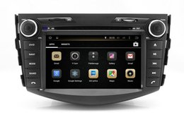 Wholesale Toyota Rav4 Dvd Player - Android 4.4 Head Unit Car DVD Player for Toyota RAV4 2006-2012 with GPS Navigation Radio Bluetooth USB AUX MP3 WiFi