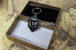 Wholesale Mail Tank - World of tanks WOT keychain black plating WOT fans collection key chain QA01 chain mail chain snake