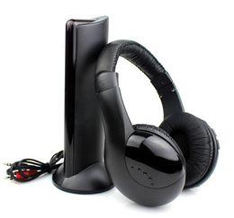 Wholesale Radios For Sale - ePacket!Holiday Sale 5 in 1 Hi-Fi Wireless Earphone Headphone K0115A for FM Radio MP3 CD PC TV