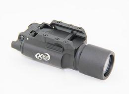 Wholesale Construction Leads - Tactical SF X300 Ultra High Ouput LED Gun Light Aluminium Alloy Construction Black