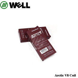 Wholesale Vertical Horizon - 100% Original Horizon Arctic V8 coils V2 V4 Vertical coil V8 0.2ohm Ni200 coil for Arctic V8 Tank vs Herakles plus coil