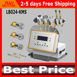 Wholesale Electroporation Mesotherapy - No-Needle Mesotherapy Machine Multifunction Electroporation Machines Gavanic Photon Cooling RF Facial Machine For Wrinkle Removal