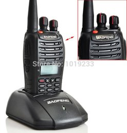 Wholesale Pmr Baofeng - Wholesale-Baofeng UV-B5 Walkie Talkie A1011A 5Watts 99 Channels FM Portable Two-way PMR Radio